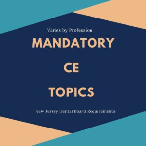 Mandatory CE Topics